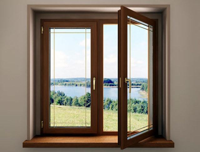 Решетка окно дом